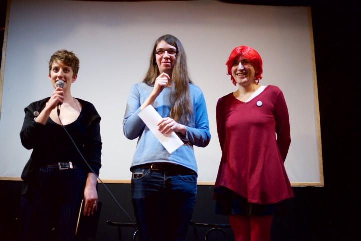 Lectures de Léonie, Aube et Jena.